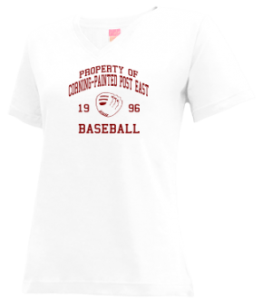 Corning-painted Post East High School V-neck Shirts