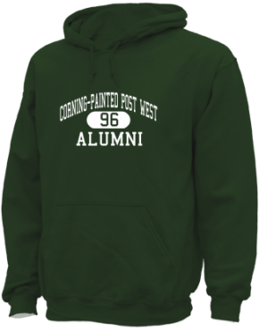 Corning-painted Post West High School Hoodies