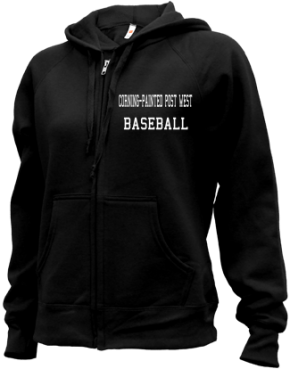 Corning-painted Post West High School Zip-up Hoodies