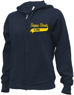 Corpus Christi School Zip-up Hoodies