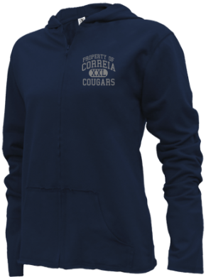 Correia Middle School Girls Zipper Hoodies