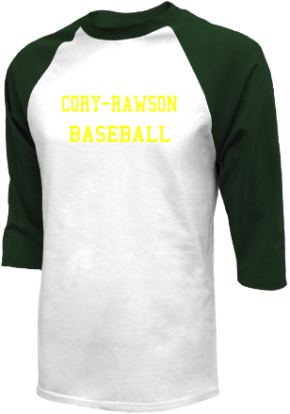 Cory-rawson High School Raglan Shirts