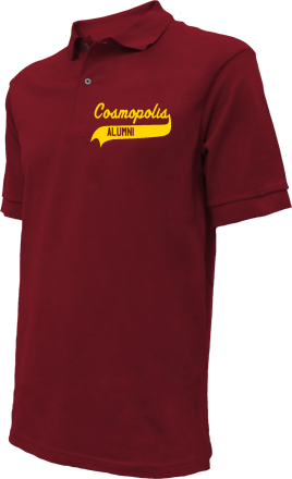 Cosmopolis Elementary School Embroidered Polo Shirts