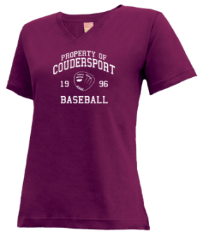 Coudersport High School V-neck Shirts