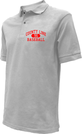 County Line High School Embroidered Polo Shirts