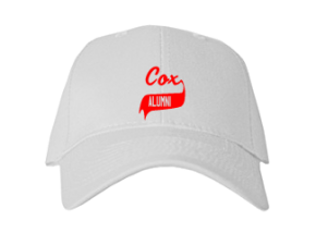 Cox Elementary School Embroidered Baseball Caps