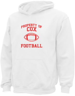 Cox Elementary School Kid Hooded Sweatshirts