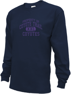 Coyote Trail Elementary School Kid Long Sleeve Shirts