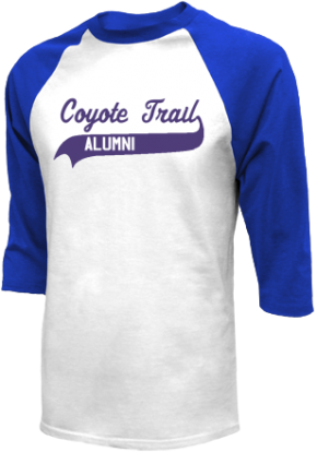 Coyote Trail Elementary School Raglan Shirts