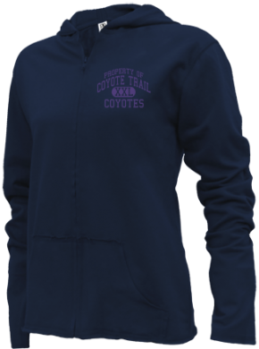 Coyote Trail Elementary School Girls Zipper Hoodies