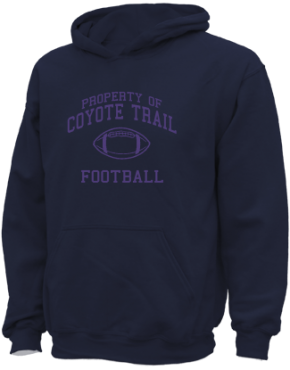Coyote Trail Elementary School Kid Hooded Sweatshirts