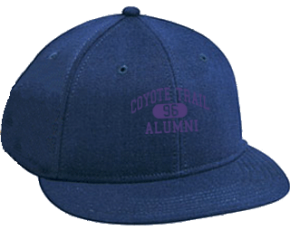 Coyote Trail Elementary School Flat Visor Caps