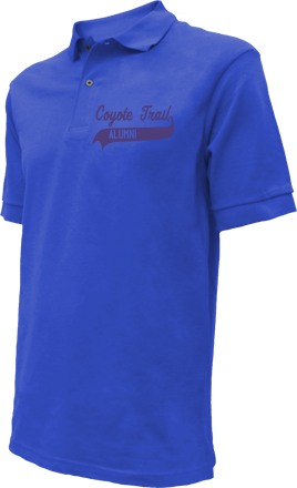 Coyote Trail Elementary School Embroidered Polo Shirts