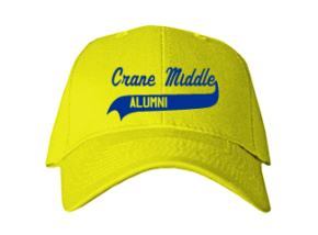 Crane Middle School Embroidered Baseball Caps