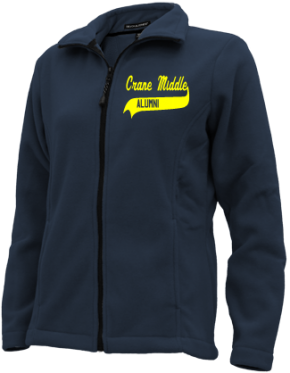 Crane Middle School Embroidered Fleece Jackets