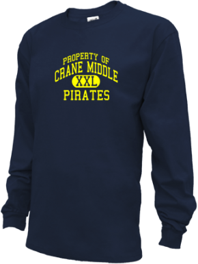 Crane Middle School Kid Long Sleeve Shirts