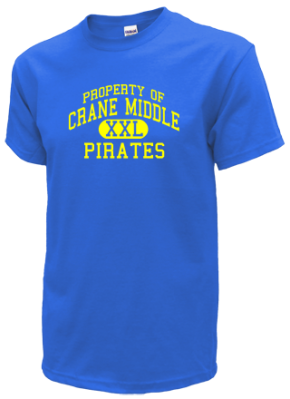 Crane Middle School Kid T-Shirts