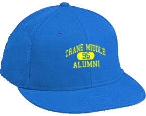 Crane Middle School Flat Visor Caps