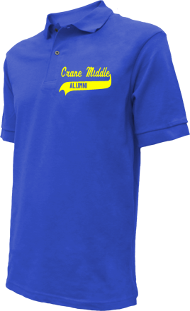 Crane Middle School Embroidered Polo Shirts