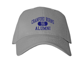 Cranford Burns Middle School Embroidered Baseball Caps