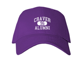 Craver Middle School Embroidered Baseball Caps