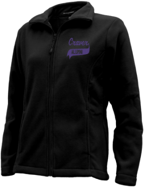 Craver Middle School Embroidered Fleece Jackets