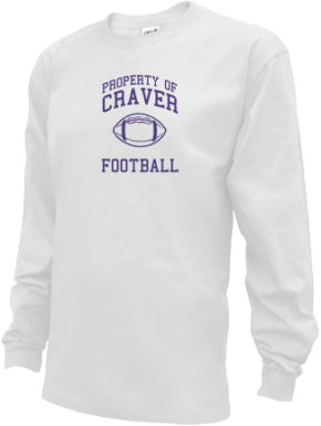Craver Middle School Kid Long Sleeve Shirts