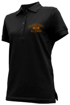 Crawford County High School Embroidered Polo Shirts