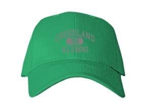 Creekland Middle School Embroidered Baseball Caps