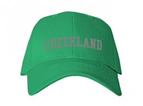 Creekland Middle School Kid Embroidered Baseball Caps