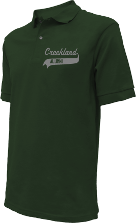 Creekland Middle School Embroidered Polo Shirts