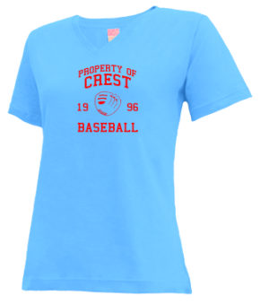 Crest High School V-neck Shirts