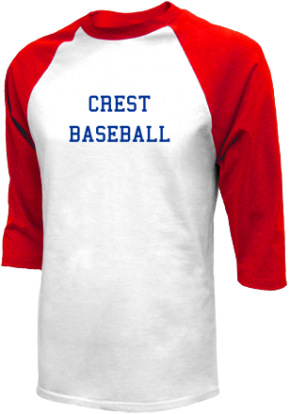 Crest High School Raglan Shirts