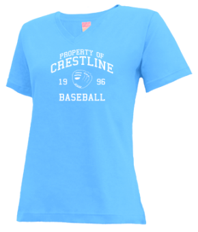 Crestline High School V-neck Shirts