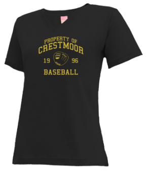 Crestmoor High School V-neck Shirts