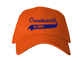 Crestworth Elementary School Embroidered Baseball Caps