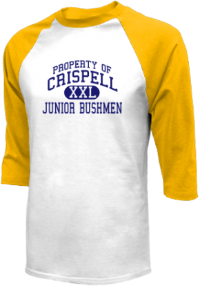 Crispell Middle School Raglan Shirts