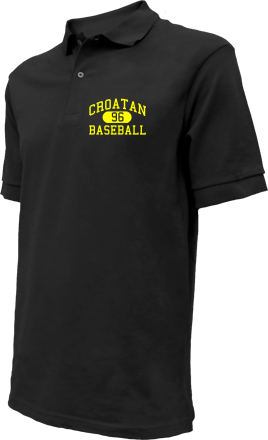 Croatan High School Embroidered Polo Shirts