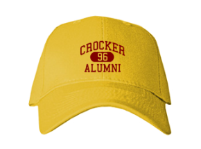 Crocker Elementary School Embroidered Baseball Caps
