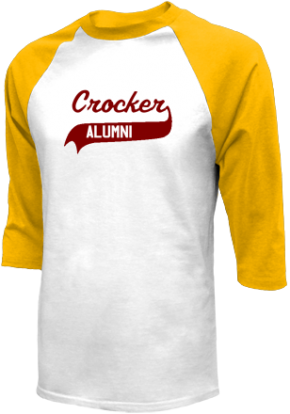 Crocker Elementary School Raglan Shirts