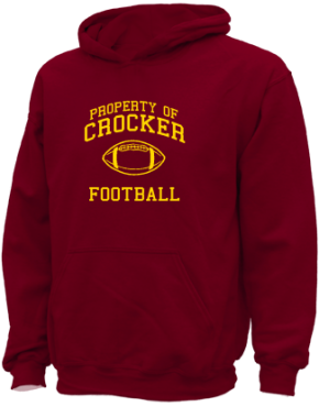 Crocker Elementary School Kid Hooded Sweatshirts