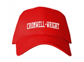 Cromwell-wright High School Kid Embroidered Baseball Caps