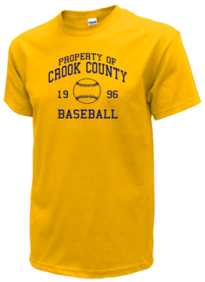Crook County High School T-Shirts