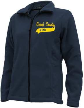 Crook County High School Embroidered Fleece Jackets