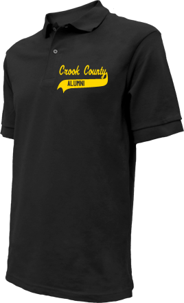 Crook County High School Embroidered Polo Shirts
