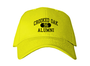 Crooked Oak Middle School Embroidered Baseball Caps