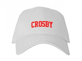 Crosby High School Kid Embroidered Baseball Caps