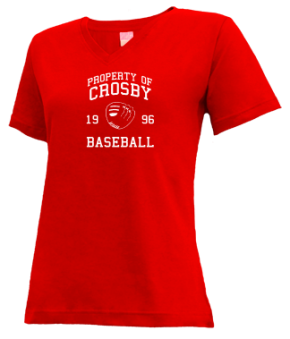 Crosby High School V-neck Shirts