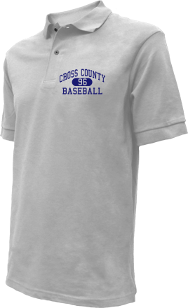 Cross County High School Embroidered Polo Shirts