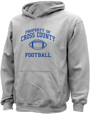 Cross County Primary School Kid Hooded Sweatshirts